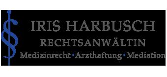 Iris Harbusch – Kanzlei für Medizinrecht, Arzthaftung und Mediation