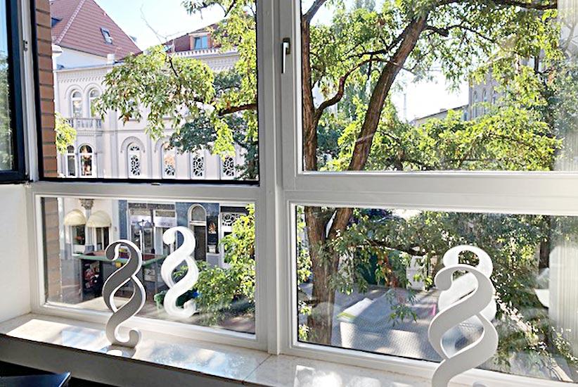 Kanzlei Fensterblick Bedizinrecht Hannover